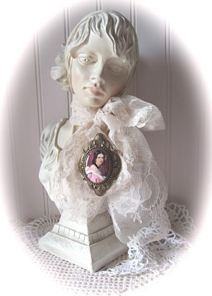 German Pink Victorian-cameo pink lady