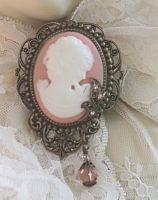 Angel Skin Pink Cameo-angel skin pink