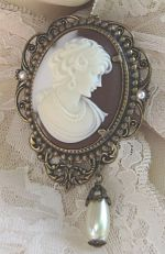 Brown Cameo-brown cameo