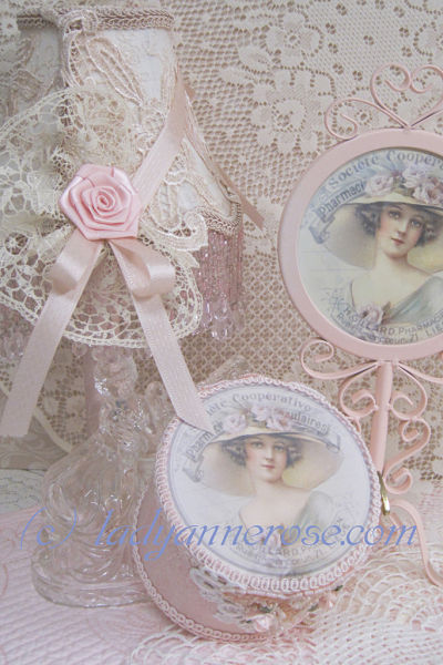 Victorian Lady Rose Hat-Victorian lady with hat music box, French Lady music box, pink music box, Fur Elise music box