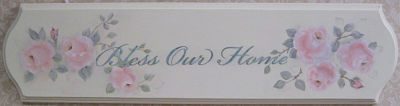 Bless Our Home Plaque-Bless Our Home Plaque