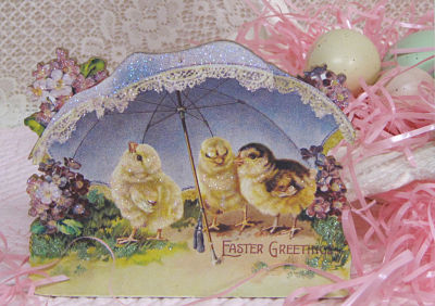 Music Box Stand Up-Pepi Music Box, Victorian Easter Music Box, Lavender Music box