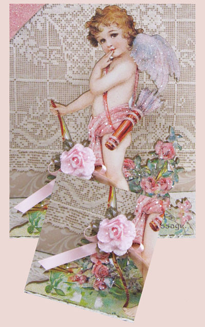 Cherub with Bow and Quiver-Cherub Music Box