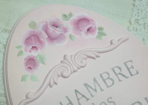 French Pastry Sign-pink oval sign, pink sign, french sign, french pastry sign, rose pastry sign