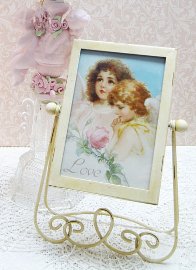 Victorian Frame with Angel Love-Victorian Frame