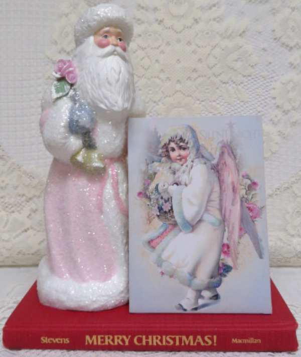 Snow Angel II Music Box-music box, snow angel, pink angel