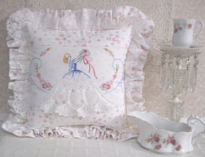 Southern Lady Pillow-Southern Lady Pillow